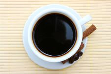 Free Cup Of Coffee Royalty Free Stock Photos - 16986458