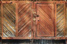 Free Wooden Doors Stock Photos - 16986773