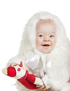Free Beautiful Baby Boy Stock Photo - 16987260