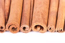 Rolls Of Cinnamon Stock Images