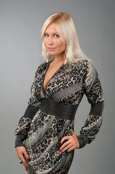 Beautiful Smiling Blonde Woman Royalty Free Stock Photos