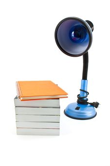 Free Lamp Amd Book Stock Photo - 16987410