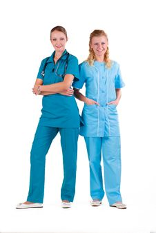 Free Young Doctors Royalty Free Stock Photos - 16987648