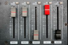 Free Sound Mixer Royalty Free Stock Images - 16987899