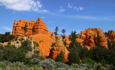 Free Red Rock Formations In Utah Royalty Free Stock Photos - 16987968