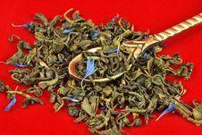 Free Green Tea Leaves Stock Photos - 16988163