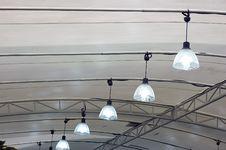 Hanging Lamp Royalty Free Stock Photos