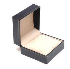 Gift Black Box Stock Photo