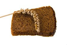 Free Black Bread Royalty Free Stock Photography - 16988957