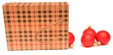 Free Gift Bag Full Of Christmas Toys Stock Photo - 16989020