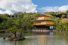 The Golden Pavilion Royalty Free Stock Images