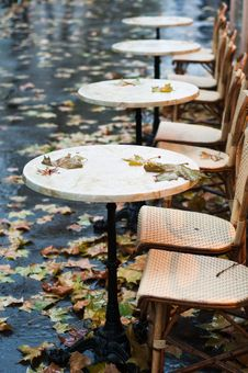 Free Autumnal Bistrot Stock Images - 16989214