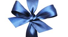 Free Dark Blue Bow Stock Photos - 16989263