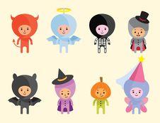 Free Halloween Costumes Royalty Free Stock Photos - 16989298