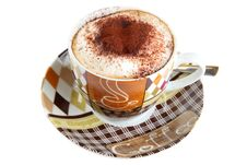 Free Cup Of Cappucino Stock Images - 16989434