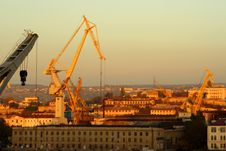 Free Loading Crane In Port Stock Photos - 16989843