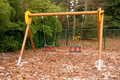 Free Empty Swings Royalty Free Stock Photo - 16990945