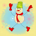 Free Snowman Royalty Free Stock Photography - 16993987