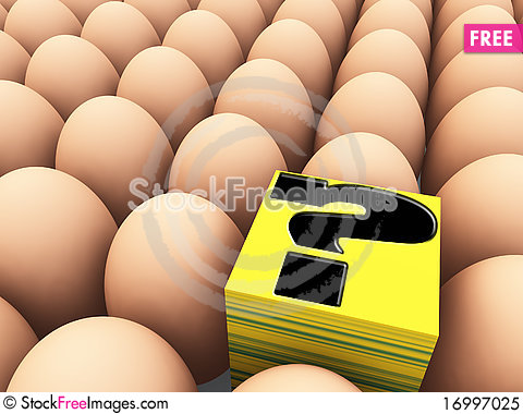 Free Puzzled Odd One Out Royalty Free Stock Photo - 16997025
