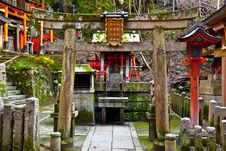 Free Stone Torii Gate Stock Photo - 16990310