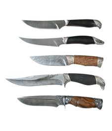 Free Damask Hunting Knifes Stock Photos - 16991033