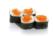 Free Caviar Sushi Maki Royalty Free Stock Photos - 16991228