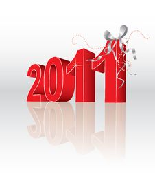 2011 New Year Royalty Free Stock Image