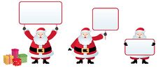 Free Santa Claus With A Christmas Message Royalty Free Stock Photo - 16992855