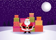 Free Santa Claus And Gifts Royalty Free Stock Images - 16992899