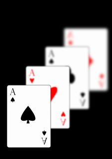 Free Four Aces Royalty Free Stock Images - 16993779