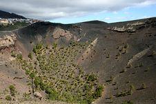 La Palma Volcano  San Antonio Royalty Free Stock Photos