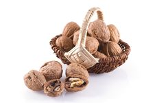 Free Walnuts. Royalty Free Stock Images - 16994509