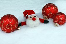 Free Christmas Balls Royalty Free Stock Photos - 16995398