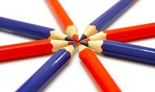 Free Colour Pencils Stock Photos - 16996893