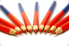 Free Colour Pencils Royalty Free Stock Photos - 16996988