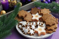Free Christmas Cookies Royalty Free Stock Photo - 16997295
