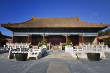 Free Beijing Forbidden City Palace Royalty Free Stock Image - 16998016