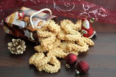 Free Christmas Cookies Royalty Free Stock Photo - 16998075