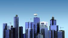 Free Cityscape Illustration Stock Image - 16998181