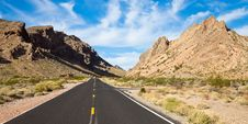 Free Valley Of Fire Entrance Stock Image - 16999741