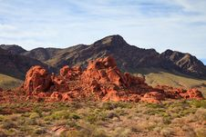 Free Valley Of Fire Rock Formation Stock Photo - 16999820