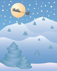 Free Christmas Night Stock Photography - 16999992