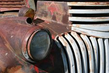 Free Truck Headlight Royalty Free Stock Images - 172859