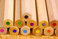 Free Colored Pencils Stock Photo - 173570