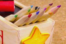 Free Pencil Box Stock Image - 173571