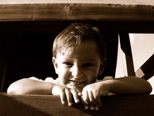 Free Smiling Boy Royalty Free Stock Photo - 174955