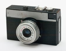 Free Old Russian Camera Royalty Free Stock Images - 175109