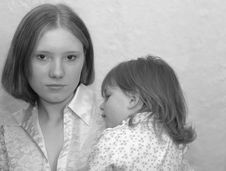 Free Teenage Mother / Sisters Stock Photos - 175113