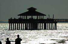 Free FMB Fishing Pier Royalty Free Stock Photography - 175437