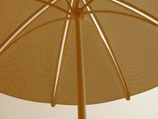 Free Sepia Table Umbrella Royalty Free Stock Images - 176779